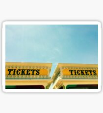 midway tickets Sticker