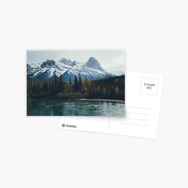 mountain river Postcard