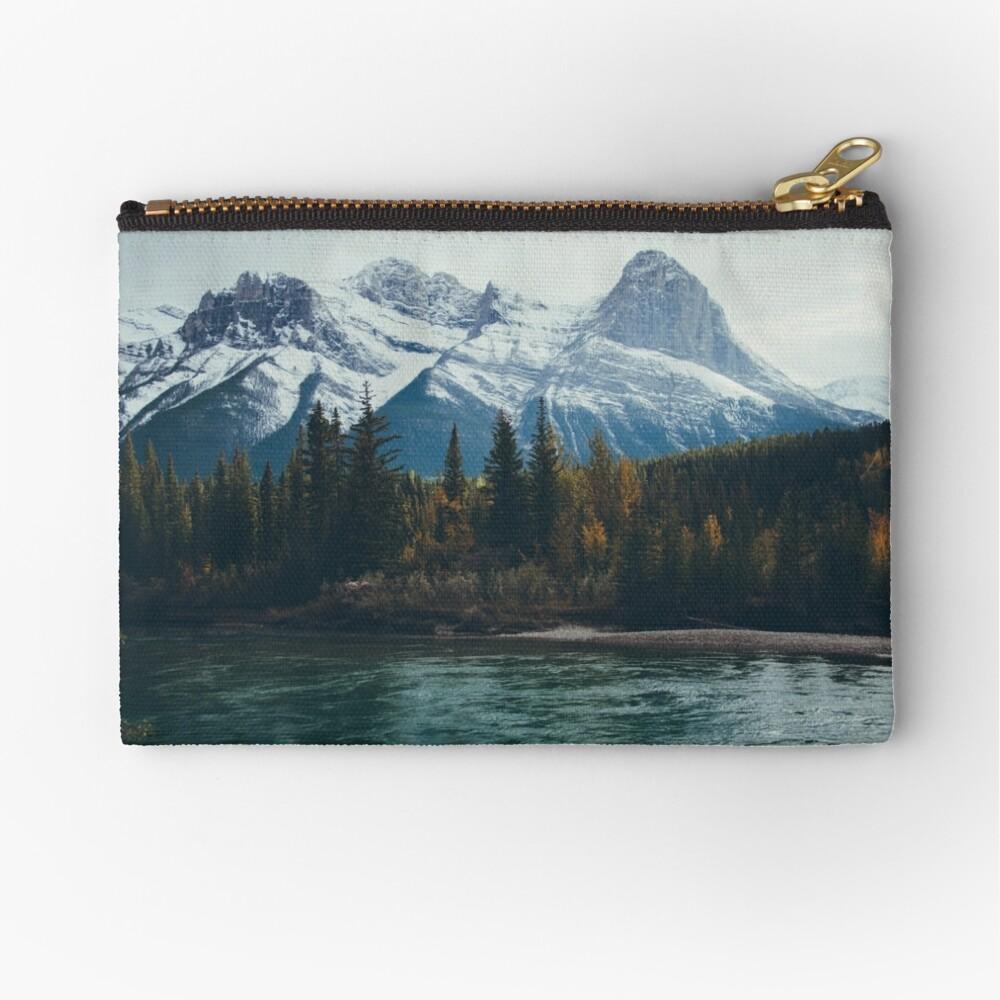 mountain river Zipper Pouch