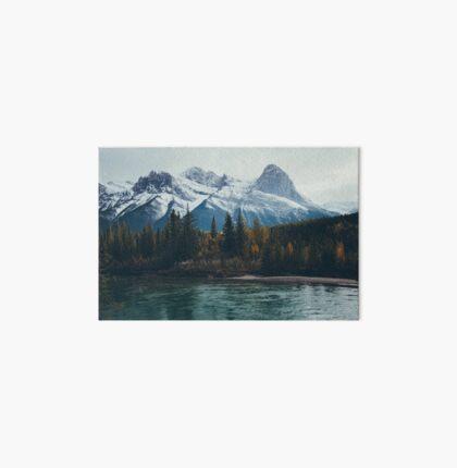 mountain river Art Board