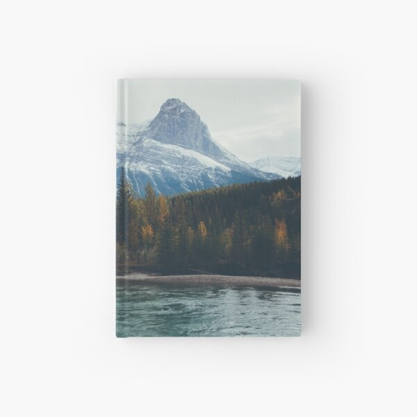 mountain river Hardcover Journal