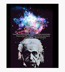 Lámina fotográfica Einstein