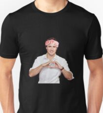 Justin Trudeau Flower Crown Unisex T-Shirt