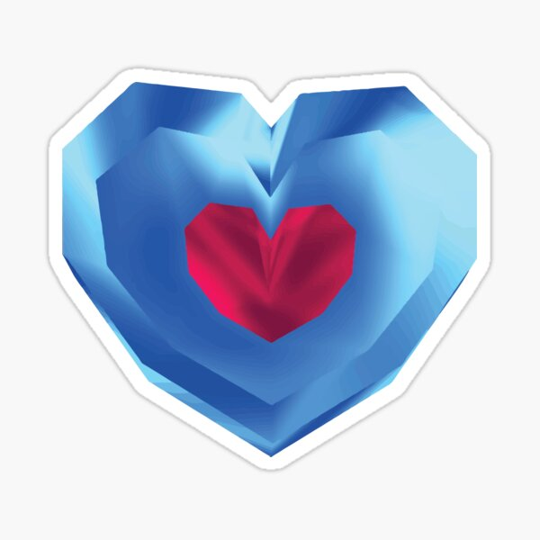 OOT Piece of Heart Sticker