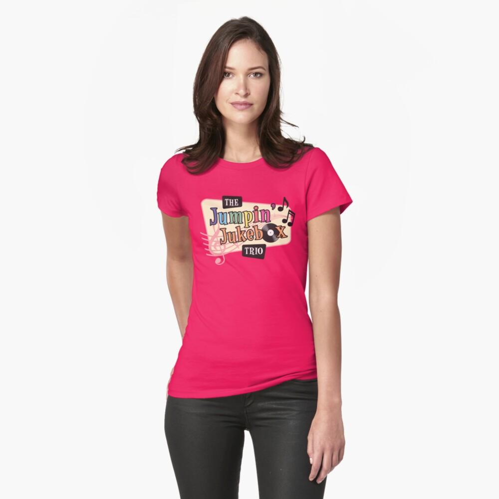 Jumpin' Jukebox T-Shirt Womens T-Shirt Front
