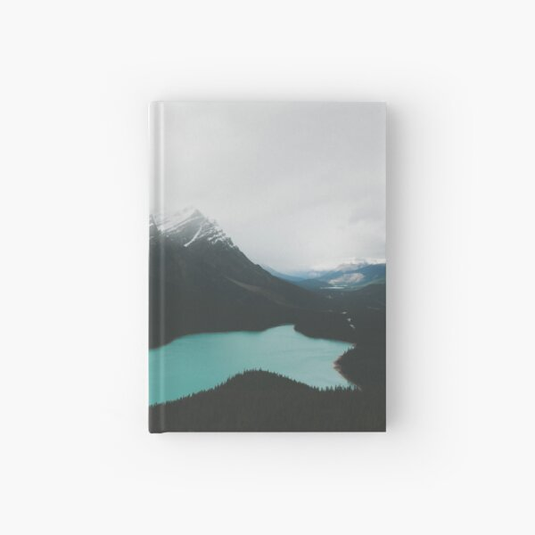 peyto lake Hardcover Journal