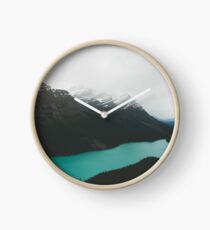 peyto lake Clock