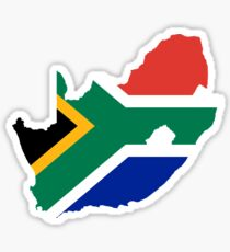South African Patriotism Sticker