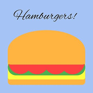 hamburgers by bruno1234