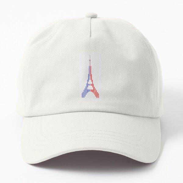 Tour Eiffel tricolore Casquette Dad Hat