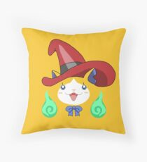 Mage Cat Throw Pillow