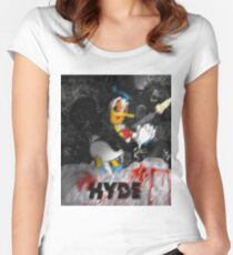 HYDE  Donald on coke Women's Fitted Scoop T-Shirt