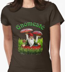 Gnomeste - WhatIf Design and More Womens Fitted T-Shirt