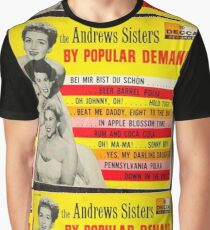 The Andrews Sisters By Popular Demand Graphic T-Shirt