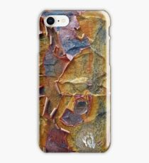 Paper Bark Abstract iPhone Case/Skin