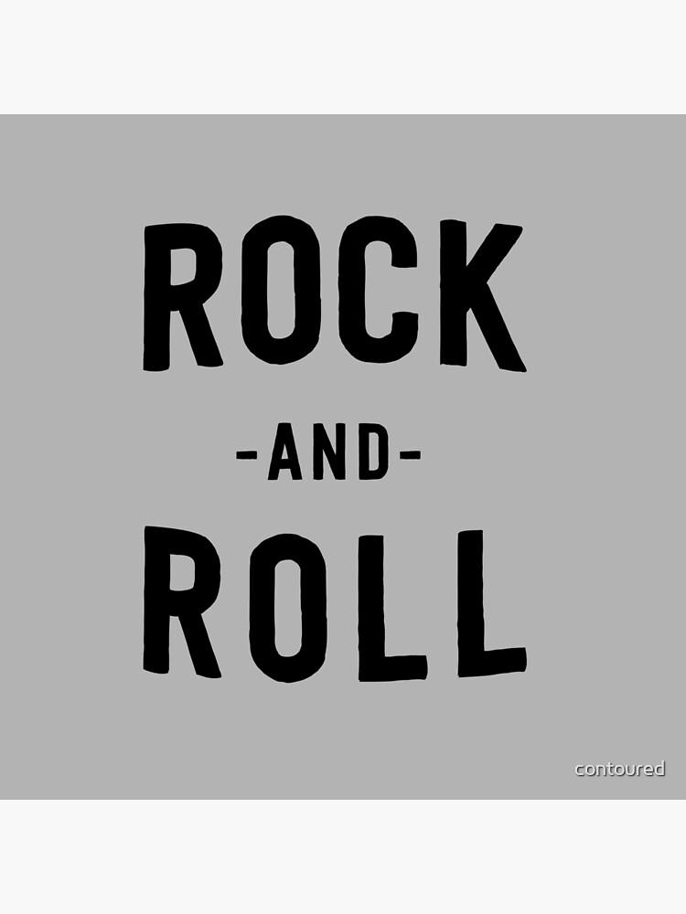 Rock'n'Roll von contoured