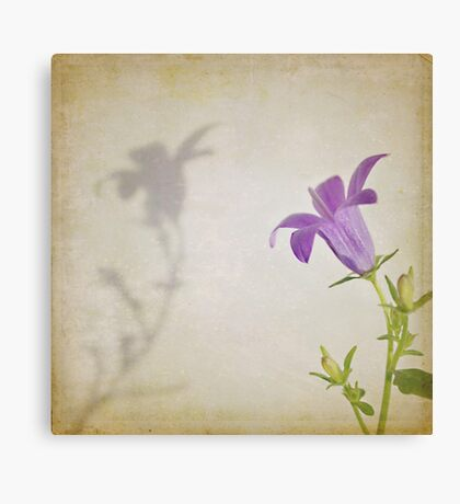 Dancing with my Shadow Canvas Print