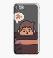 Puzzling Professor iPhone Case/Skin