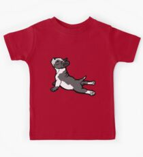 Boston Bull Terrier Puppy Black and White Kids Clothes