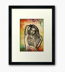 Hayley Kiyoko Framed Print