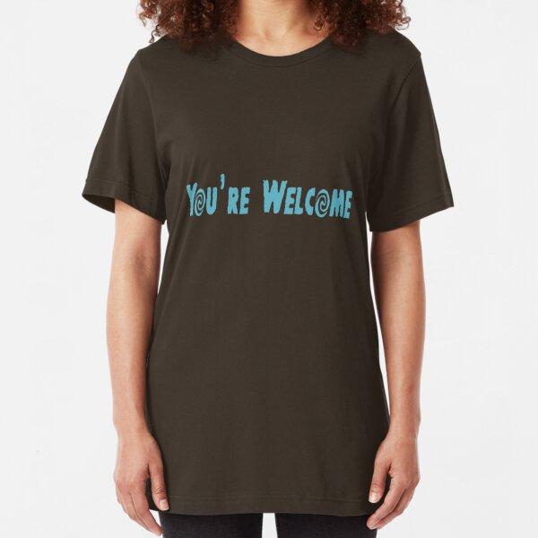 Maui, du bist willkommen Slim Fit T-Shirt