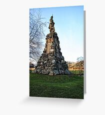 Memorial to the Black Watch Greeting Card