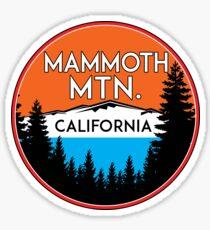 MAMMOTH MOUNTAIN CALIFORNIA SKIING SKI SNOWBOARDING HIKING CLIMBING 21 Sticker