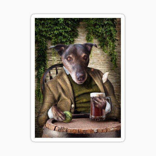 Dog Portrait - Jack Sticker