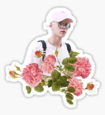 Pink Jin BTS Sticker