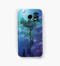 Blue Box in the Victorian Sky Samsung Galaxy Case/Skin