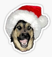 Shepherd Christmas  Sticker