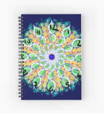 Spring Loaded Clock Spiral Notebook