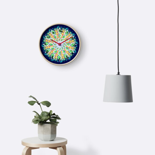 Spring Loaded Clock by HoremWeb