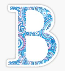 Letter B Sticker