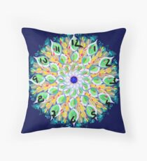 Spring Loaded Clock Throw Pillow