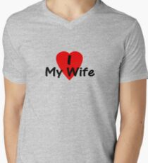 I love my wife T-shirt Top T-Shirt