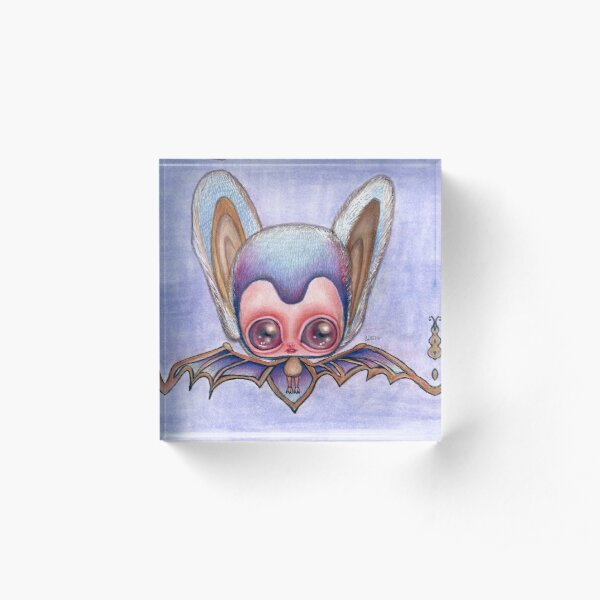 bat Acrylic Block