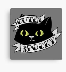 Cute and Spooky Canvas Print