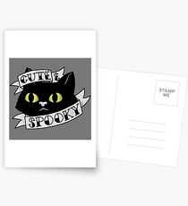 Cute and Spooky Postcards