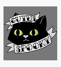Cute and Spooky Photographic Print