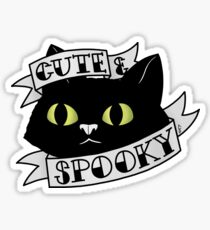 Cute and Spooky Sticker