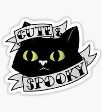 Cute and Spooky Sticker