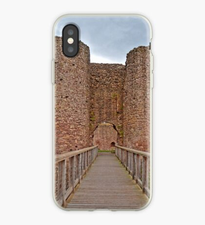 The White Castle in Wales, UK iPhone Case