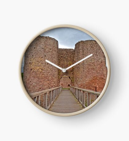 The White Castle in Wales, UK Clock