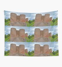 The White Castle in Wales, UK Wall Tapestry