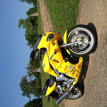 Yellow sv650 by MrConkers