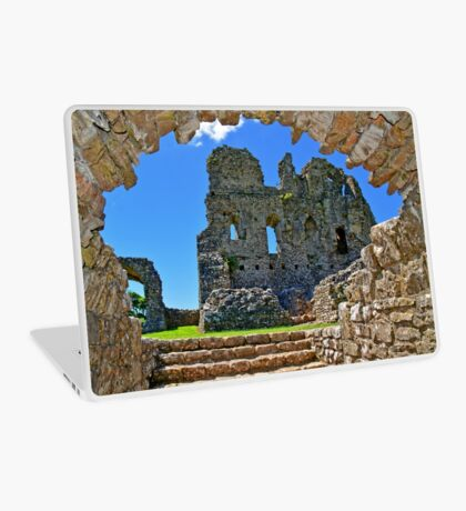 Ogmore Castle, a 12th century Norman Castle in Wales Laptop Skin
