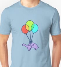 Balloon Dinosaur Unisex T-Shirt