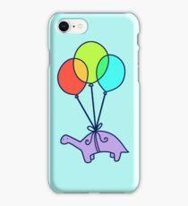 Balloon Dinosaur iPhone Case/Skin