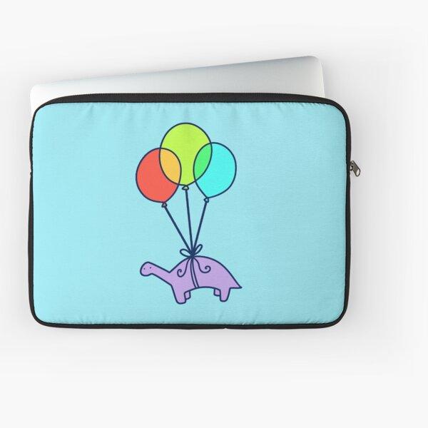 Balloon Dinosaur Laptop Sleeve